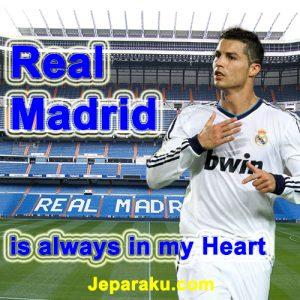 gambar CR7 DP BBM Real Madrid Terbaru