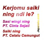 Kumpuluan Gambar DP BBM Lucu Bahasa Jawa