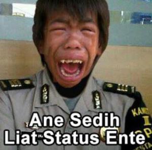 Meme Lucu Ngakak polisi