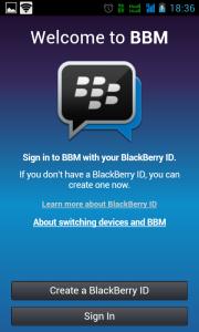 Cara Logout BBM di HP Android dan BlackBerry