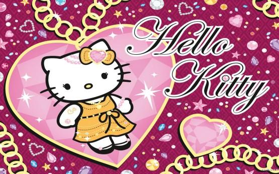 dp bbm kartun hello kitti cantik