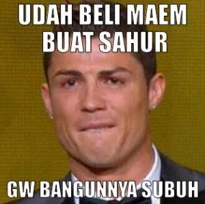Ronaldo aja Sahur