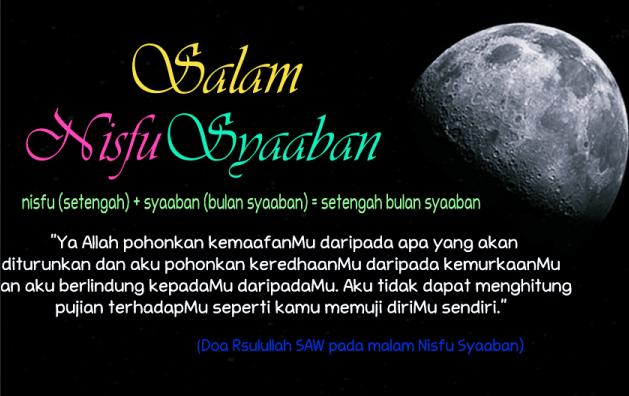 DP BBM Malam Nisfu Sya'ban doa