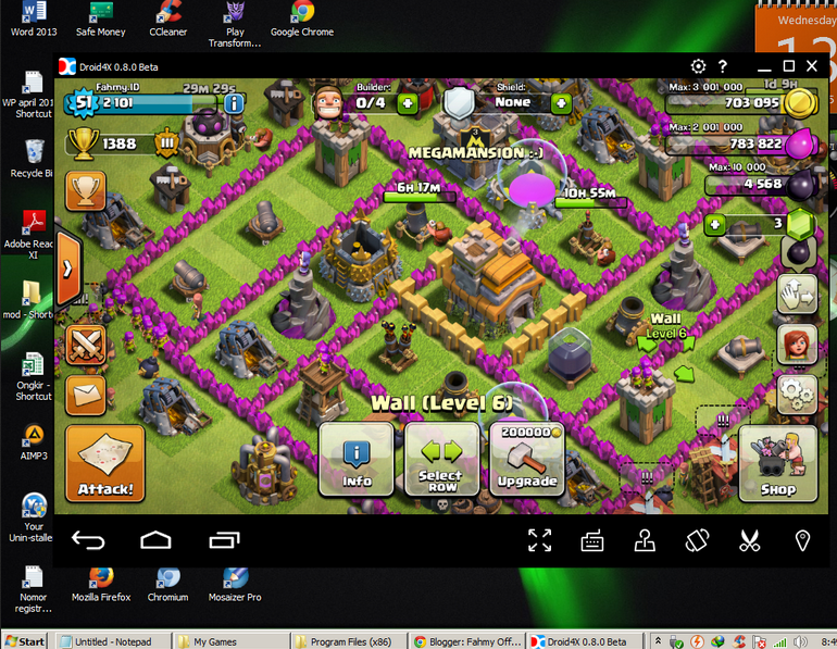 Cara Main Game Clash Of Clans (COC) Pada PC dan Laptop