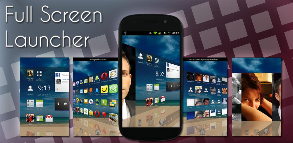 screen launcher